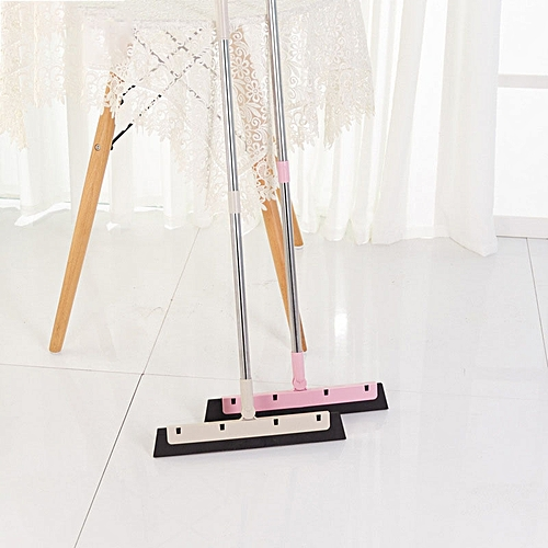 Magic Broom Sweep The Floor Household Wiper Soft Cleaning Brush Mop Dust Hair Stainless Steel Broom
