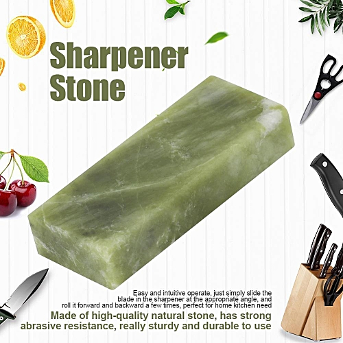 Sharpening Stone Whetstone Kitchen Knife Sharpener Polishing Grinding Tools(Green 10000#)