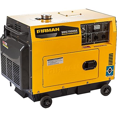 Sumec Firman 6/5KVA Diesel Soundproof Generator