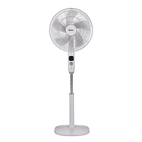 Midea Fan - FS40-16CR Stand Fan 16 Inch -DC Stand Fan With LED Display & Remote Control JA