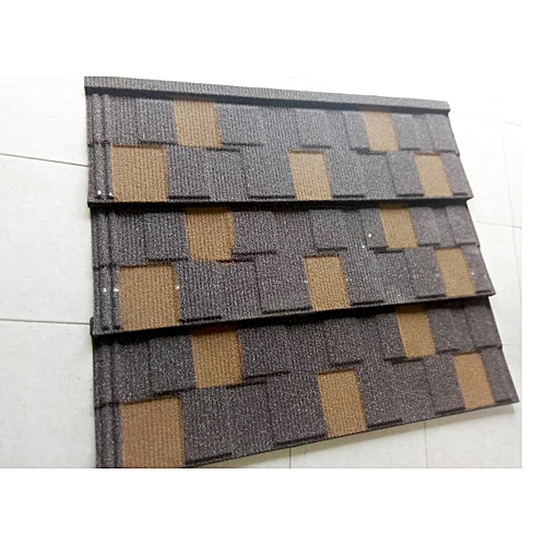 Quality Solid Black Stone Coated Roofing Sheet
