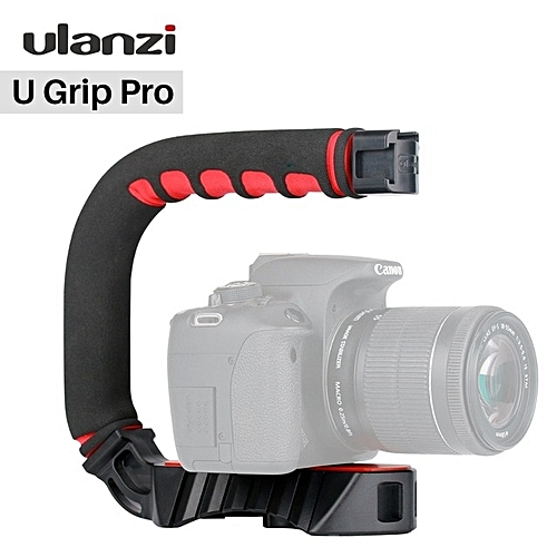 U-Grip Pro Video Action Stabilizing Handheld Stabilizer Rig Hot Shoe Compatible Canon Sony DSLR Camera And Most Smartphone