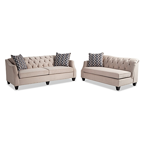 Marley Sofa And Chaise + Free Shoerack