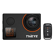 Used, ThiEYE T5 Edge 4K WiFi Action Sports Camera 14MP 1080P Voice Remote Control 6-axis EIS Stabilization 2.0inch IPS Distortion Correction 60m Waterproof Support Time-Lapse Fast/Slow Motion for sale  Nigeria