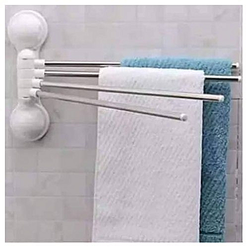 4 Steps Of Towel Hanger