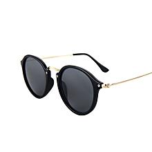 a1ba0b656295a Black Sunglasses Women Brand Designer Vintage Mirror Sun Glasses For Women  Round Vintage Sunglasses Ladies Female