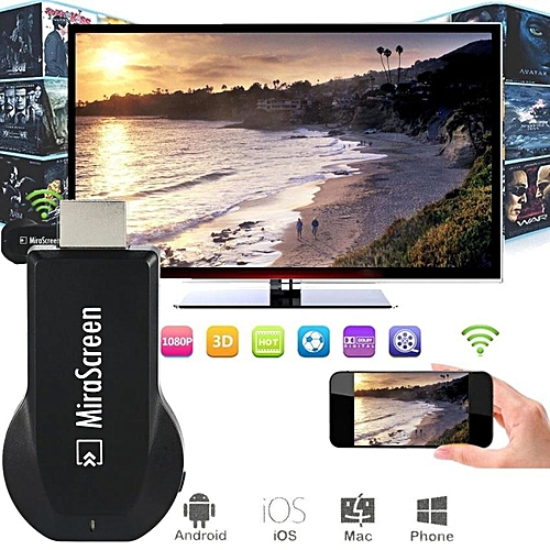 2017 MiraScreen OTA TV Stick Dongle TOP 1 Chromecast Wi-Fi Display Receiver DLNA Airplay Miracast Airmirroring WOHOT