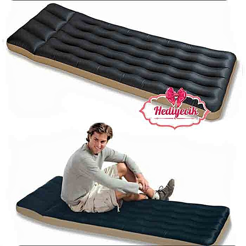INTEX Mini Airbed Camping Bed Outdoor Air Mattress With Pump