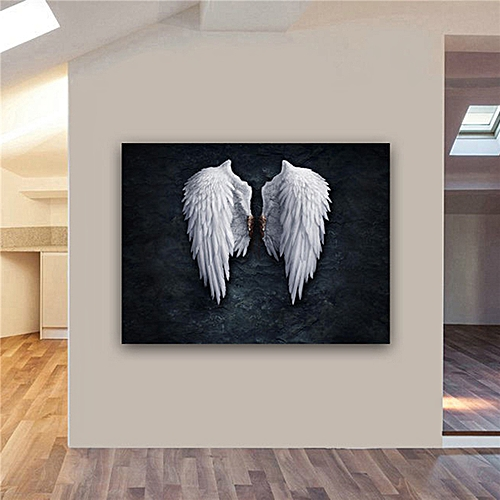 Home ANGEL WINGS Print Picture Art Pictures Canvas Wall Art Prints Unframed -30*40cm
