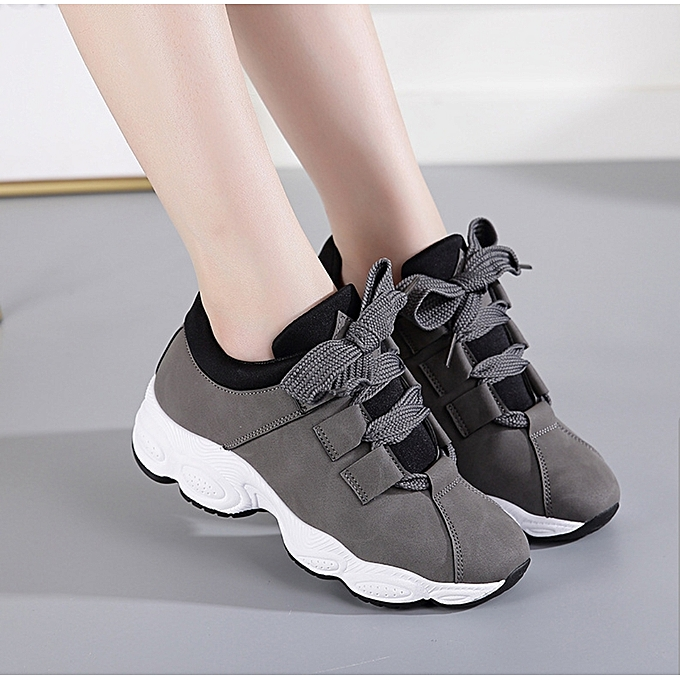 new product 4f218 6fcdc Women's Sneakers Ladies Lightly Sport Shoes Sneaker-Ash