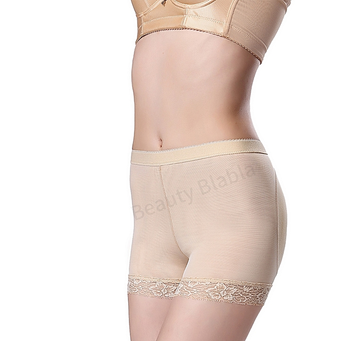 626ade7422b ... Breathable Lace Pattern High Elastic Hip Butt Lifting Shapewear Butt  Lifter Padded Panties Mid Waist Underwear