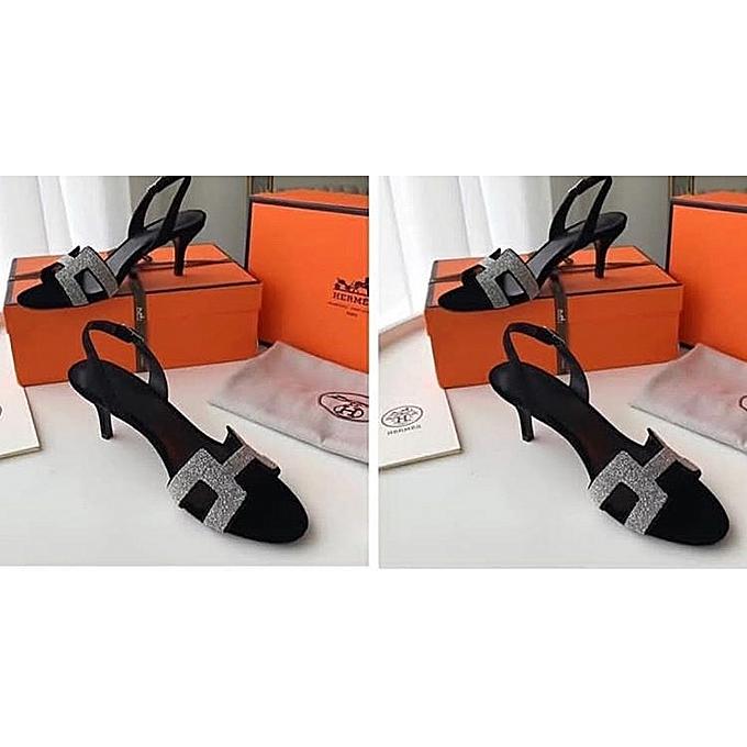 ad3d03c42 Generac Ladies H Black Sandals