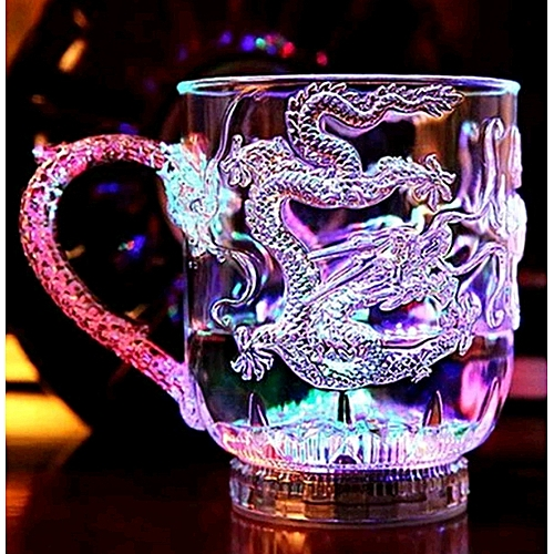Magic Color Dragon Cup Water Activated Light-Up
