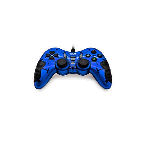 Havit Single 3d Wired Gamepad For pc - Blue