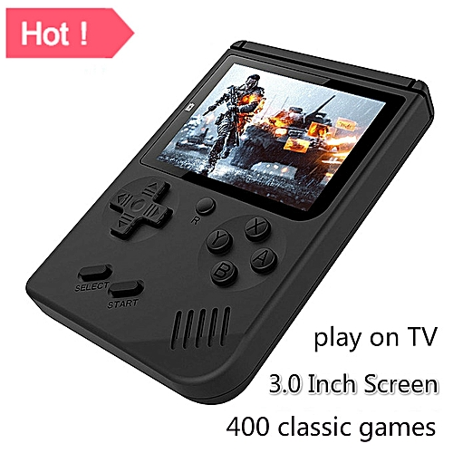 Portable Handheld Game Console 400 Classic Games Play On TV