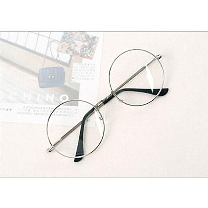 a643136b4 Benhongszy Women Men Retro Round Metal Frame Clear Lens Glasses Nerd  Spectacles Eyeglass Eye Glasses Frame