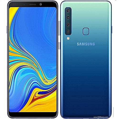 Galaxy A9 6.3-Inch Full HD+ SAMOLED (6GB, 128GB ROM) Android 8.0 Oreo, 24MP + 24MP Dual SIM 4G - Lemonade Blue