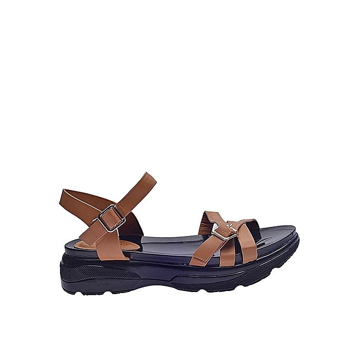 9ec4a9abc Fashion Ladies Kito Sandals - Brown