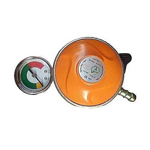 Gas Regulator With Leak And Leak Indicator Meter