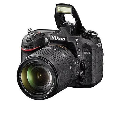Nikon D7200  DSLR Camera + 18-140mm Lens