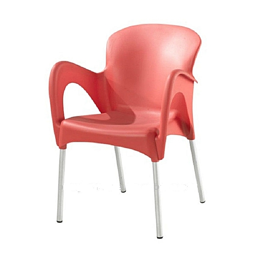 Plastic Chair With Iron Legs