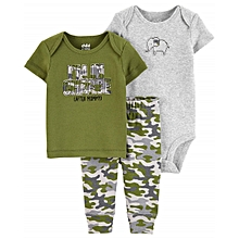 3e8963969 Baby Boy I Am In Charge Tshirt, Bodysuit, And Matching Pants Outfit Set,