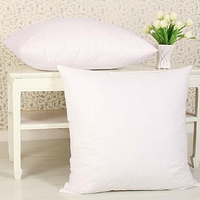 Multi Size Cotton Throw Hold Pillow Inner Pads Inserts Fillers Bed Sofa Cushion