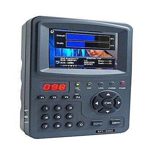 KPT 968G MPEG4 HD Satellite Finder And CCTV Multifunctional Monitor