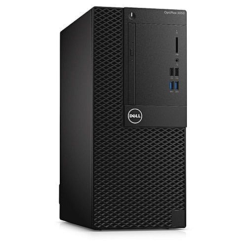 OPTIPLEX 3050 MINITOWER PC INTEL® CORE™ I3-7100 (3.9GHZ) 4GB 500GB USB KEYBOARD AND MOUSE LINUX UBUNTU 16.04 LTS 64