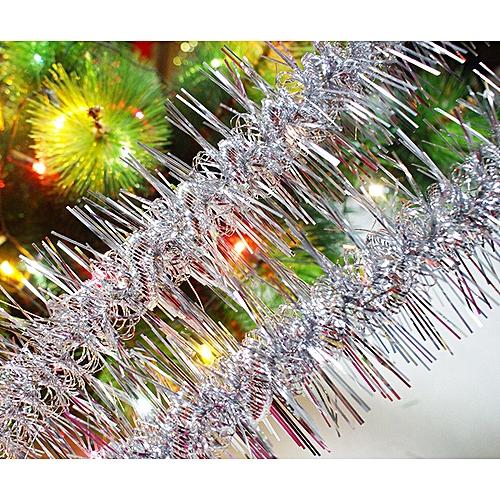 Christmas Party Xmas Tree Ornaments 1.8m Tinsel Hanging Decorations 6 Colors Wannag