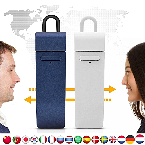 VBESTLIFE Multi-Language Instant Translator Voice Real-time Translate With Earphone Traductor For Business Learning WAAAA