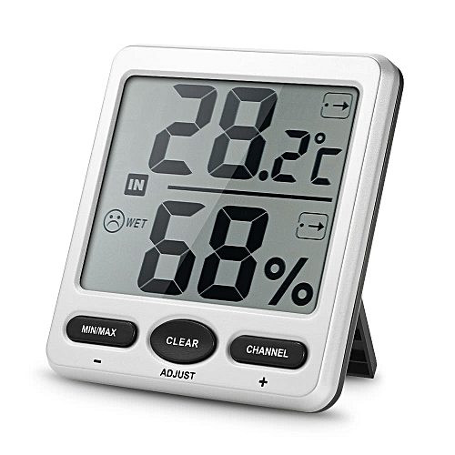 Thermo-hygrometer 2 Consoles + 1 Transmitter WS-07-C2