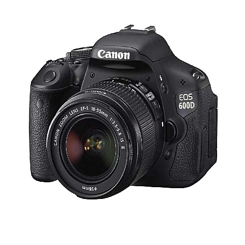 EOS 600D Digital SLR Camera With 18-55 Mm F/3.5-5.6 IS II Lens Kit