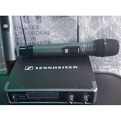 Sennheiser Uhf Wireless Handheld Microphone With Lcd Screen