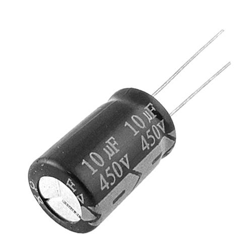 2Pcs Electrolytic Capacitors 450V 10uF Higt Quality 10UF Capacitor