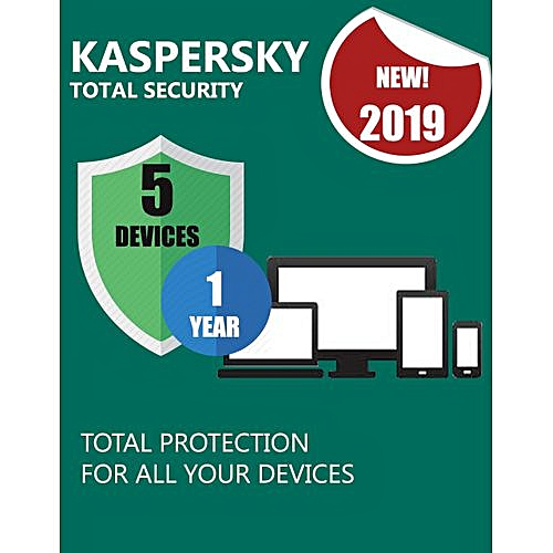 TOTAL SECURITY 2019 5 DEVICES PC 1 YEAR Download Version