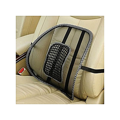 Mesh Cushion Office Chair Car Seat Lumbar Back Support