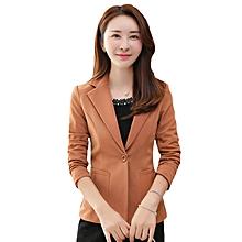 200b65c45c Women Spring Slim Design Short Blazer Jackets Coat
