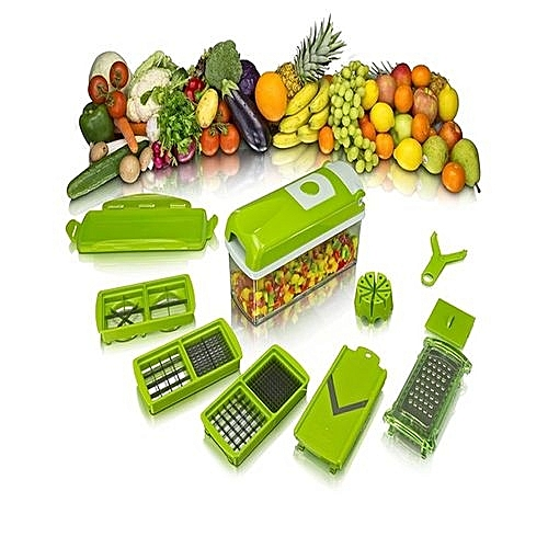 Nicer Dicer For Vegetables And Fruit With CD
