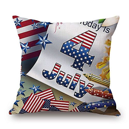 Hiamok_Dtrestocy Home Decor Ornate HAPPY CAMPERS Sofa Waist Throw Cushion Cover Pillow Case