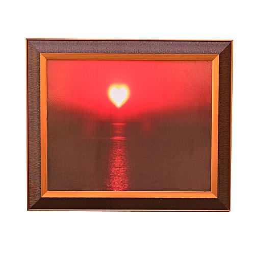 Big Wall Art Frame ''Love In The Sky''