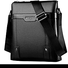Men 039 S Cross Body Shoulder Messenger Business Casual Bag Black