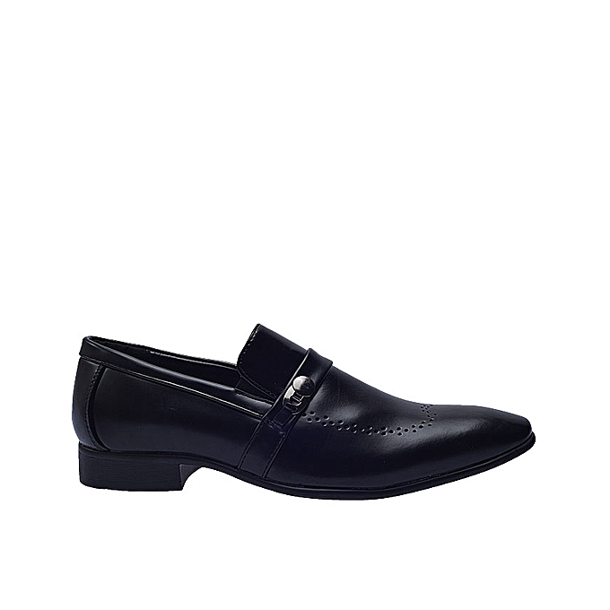 Buy Kaotic Formal Shoe With Side Clip Black Best Price