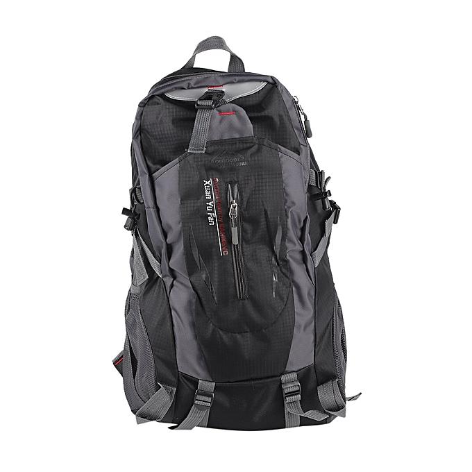 1c58144e59 Large Capacity Nylon Unisex Travel Backpack Waterproof Hiking Camping  Rucksack