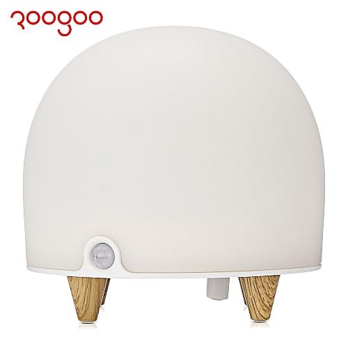 ROOGOO RG - L022 LED Patting Tap Night Light Lamp Timing Set Alarm