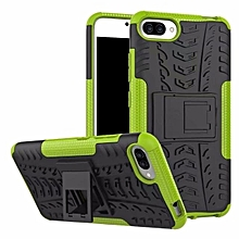 TPU + PC Armor Hybrid Case Cover For Asus Zenfone 4 Max ZC554KL 5.5'' (Green)