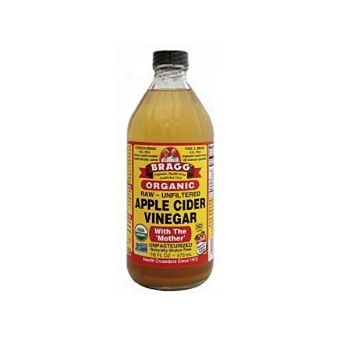 bragg apple cider vinegar organic raw/unfiltered with