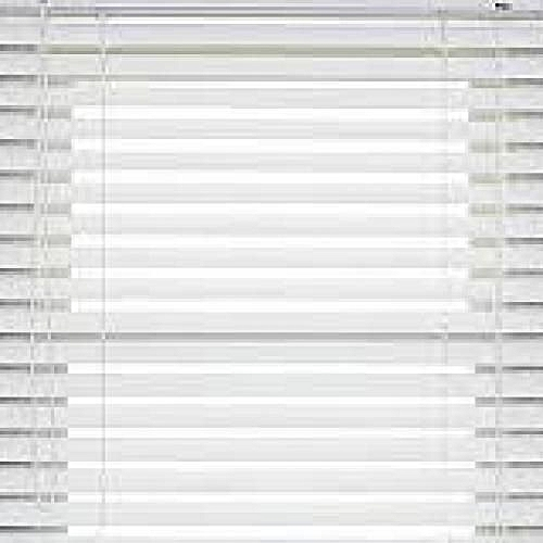 Wooden Venetian Window Blinds WHITE