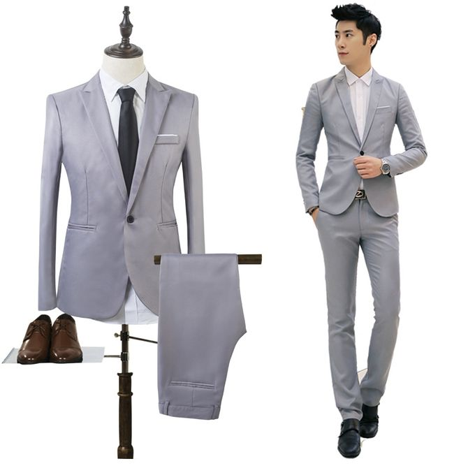 Yingwoo Black Suit Men Blazers Stage Costumes For Singers Men 2 ...