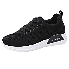 Women Fashion Breathable Mesh Running Sport Sneakers Travel Outdoor Toe Shoes -Black for sale  Nigeria